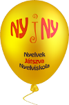 Nyelvek játszva nyelviskola logó